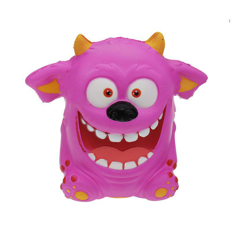 Mouth Monster Jumbo Squishy Slow Rising Dessin animé Cadeau Collection Peluche