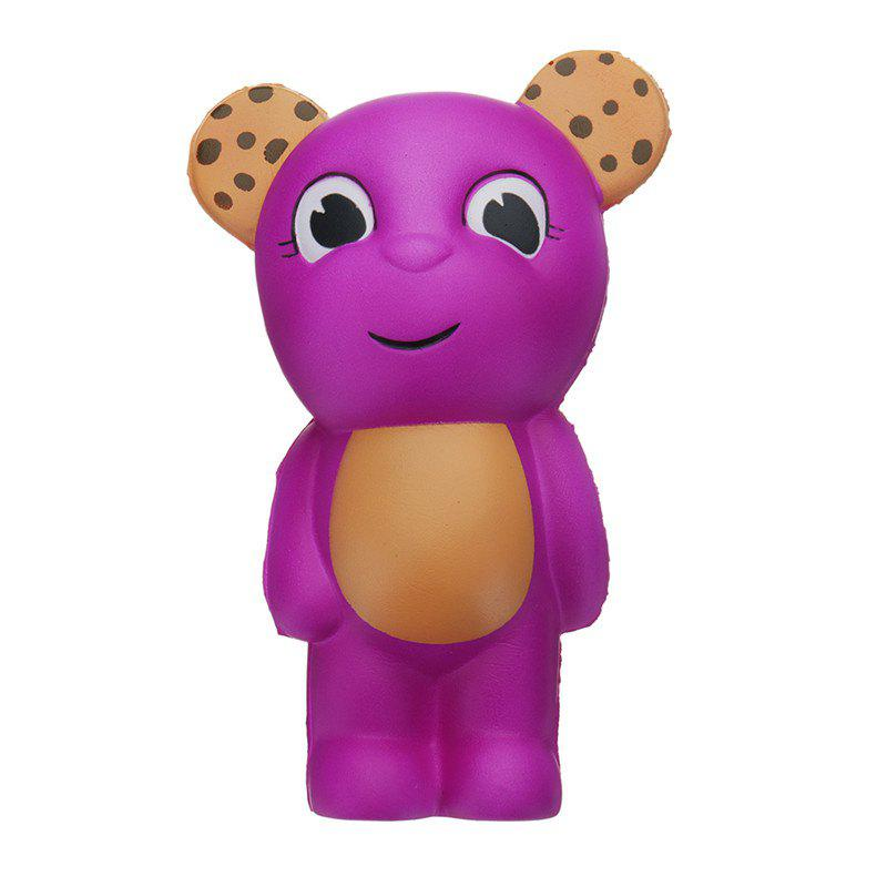 Bear Jumbo Squishy Slow Rising Dessin animé Cadeau Collection Peluche