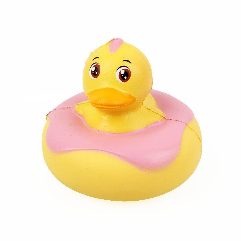 Canard Jumbo Squishy Slow Rising Emballage Collection Cadeau Peluche