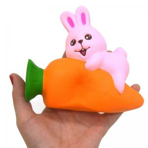 Lapin Jumbo Squishy Slow Rising Soft Animal Collection Cadeau Emballage d'origine -