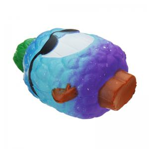 Poupée d'ananas Jumbo Squishy Slow Rising emballage Collection cadeau peluche -