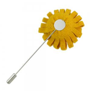Fashion Colorful Flannel Flower Brooch Pin for Women -
