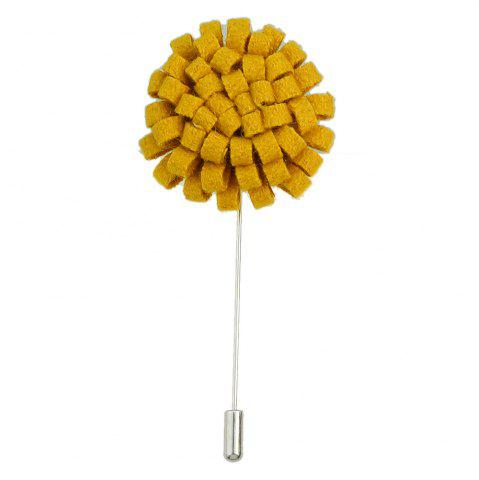 Outfits Fashion Colorful Flannel Flower Brooch Pin for Women