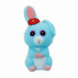 Long Ears Rabbit Jumbo Squishy Slow Rising Packaging Collection Gift Soft Toy -