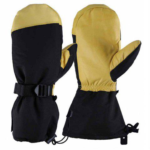 Chic OZERO -40 Deg.F Cold Proof Winter Skiing Mittens Gloves for Men and Women