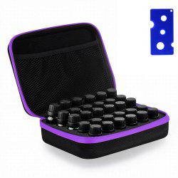 Carrying Case  Hard Shell Exterior EVA Essential Oils Storage -