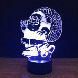 Santa Claus Touch Colors Changing LED Night Light -