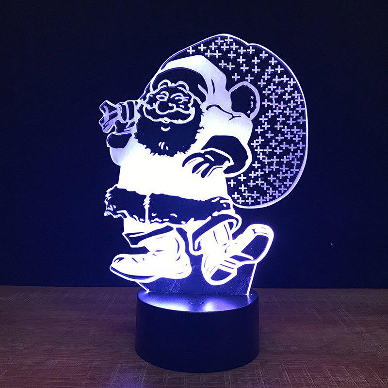 Shops Santa Claus Touch Colors Changing LED Night Light