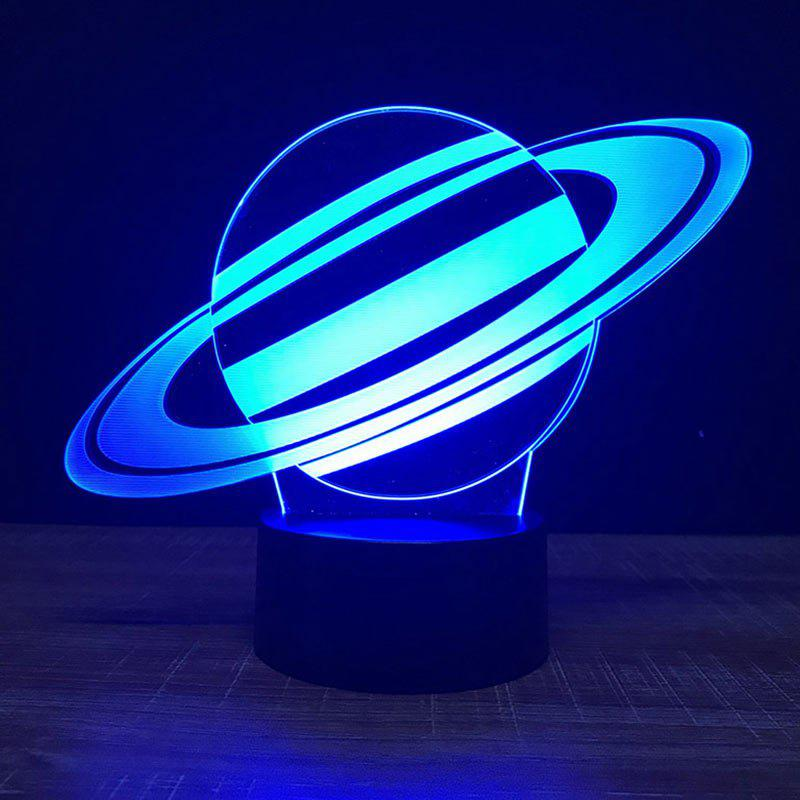 Outfit Saturn Shape Touch Colors Changing LED Night Light