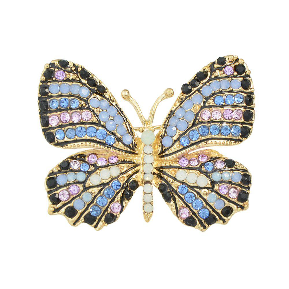 Best Colorful Rhinestone Lovely Butterfly Brooches