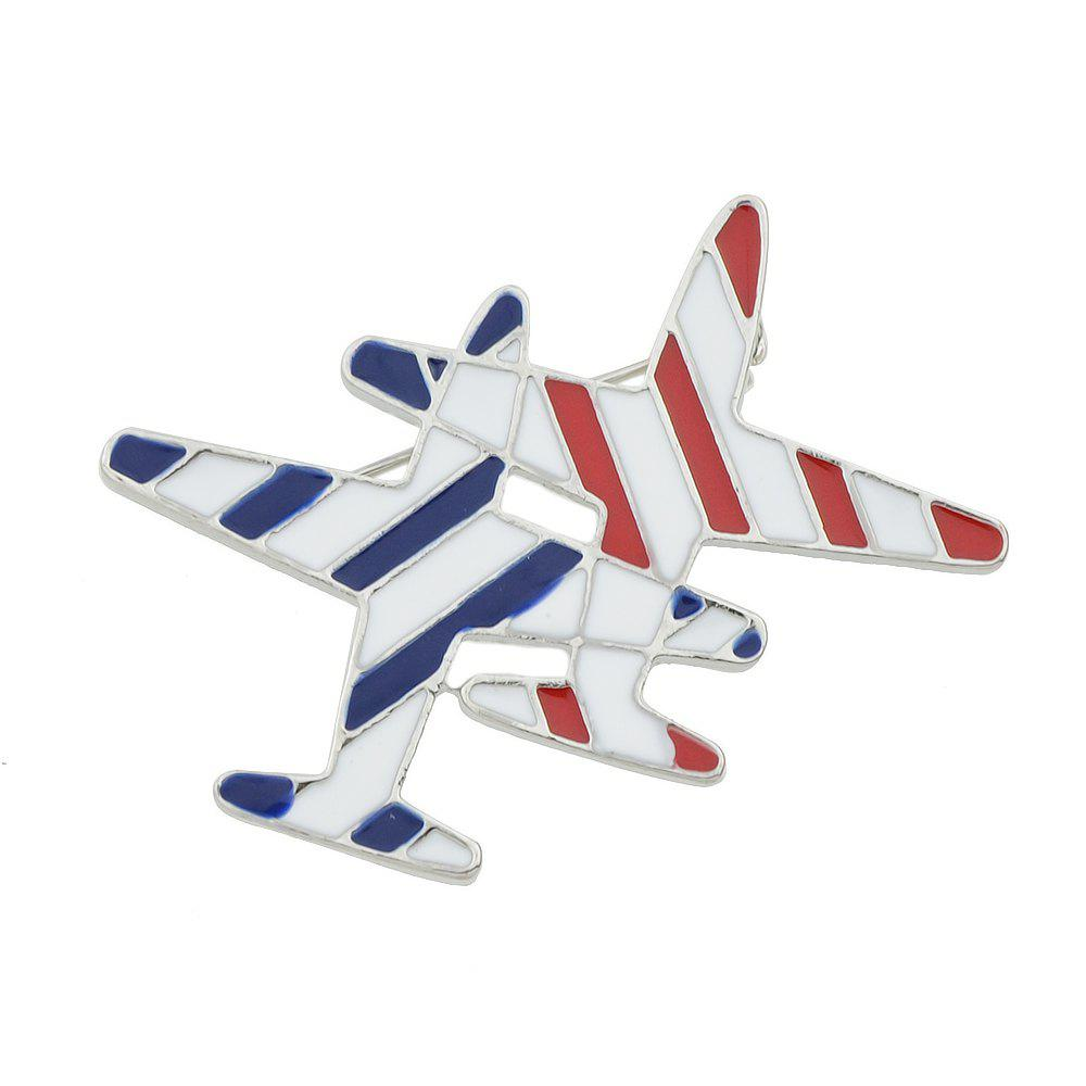 Best Lovely Enamel Aircraft Brooches Pins for Fashion Lady