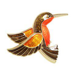 Lovely Enamel Hummingbird Brooches for Women -