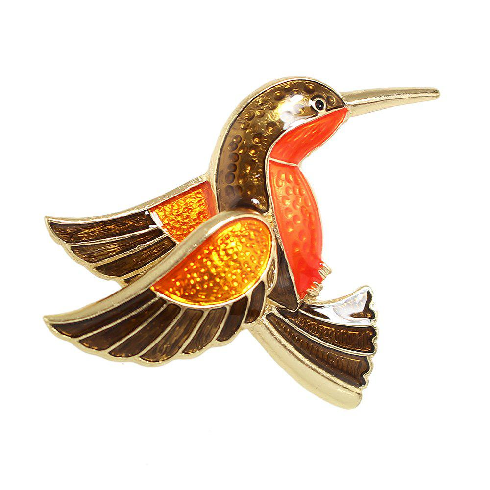 Hot Lovely Enamel Hummingbird Brooches for Women