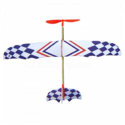 Rubber Band Powered Airplane Model for Teenager -