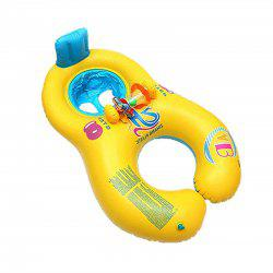 Mother and Baby Synchronized Swimming Laps Swimsuit Seat Armpit Circle -