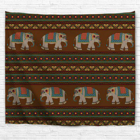 16824e8594e Indian Elephant 3D Printing Home Wall Hanging Tapestry for Decoration