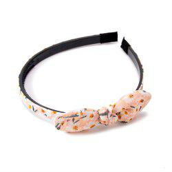 Trendy Small Flower Butterfly Knot Simple Lady Hair Hoop Hairband -