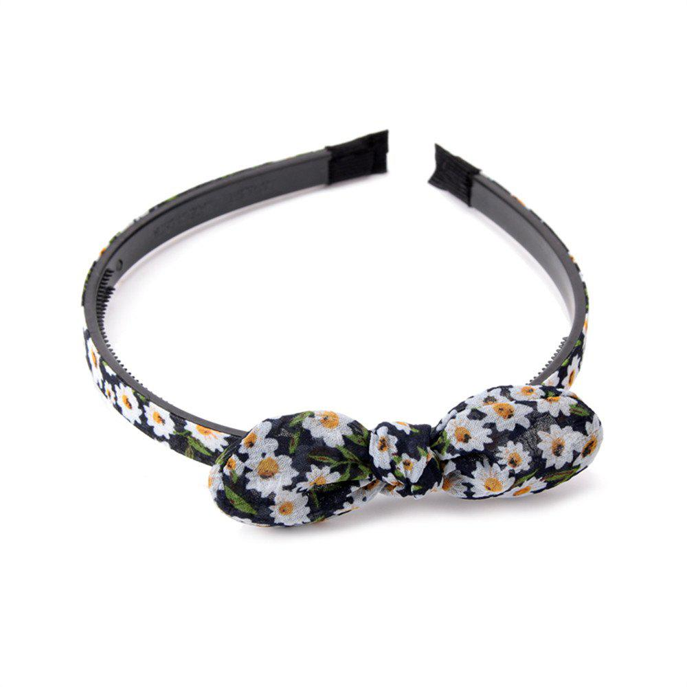 Sale Trendy Small Flower Butterfly Knot Simple Lady Hair Hoop Hairband