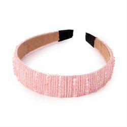 Fashion Lady Ornaments Diamond Hoop Hairband -