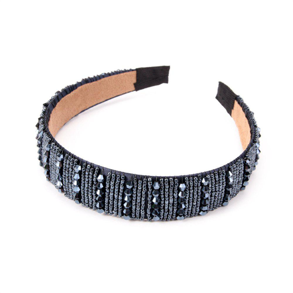 Trendy Fashion Lady Ornaments Diamond Hoop Hairband
