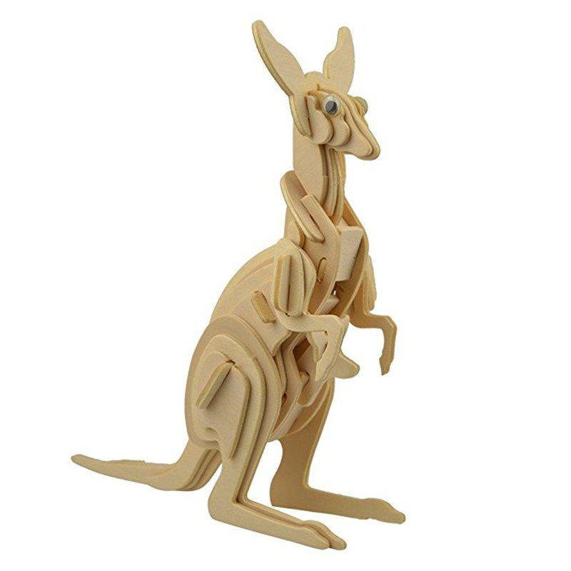 DIY Wooden Animal Puzzle Toy 273907801