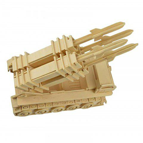 Latest 3D Wooden DIY Puzzle Toy