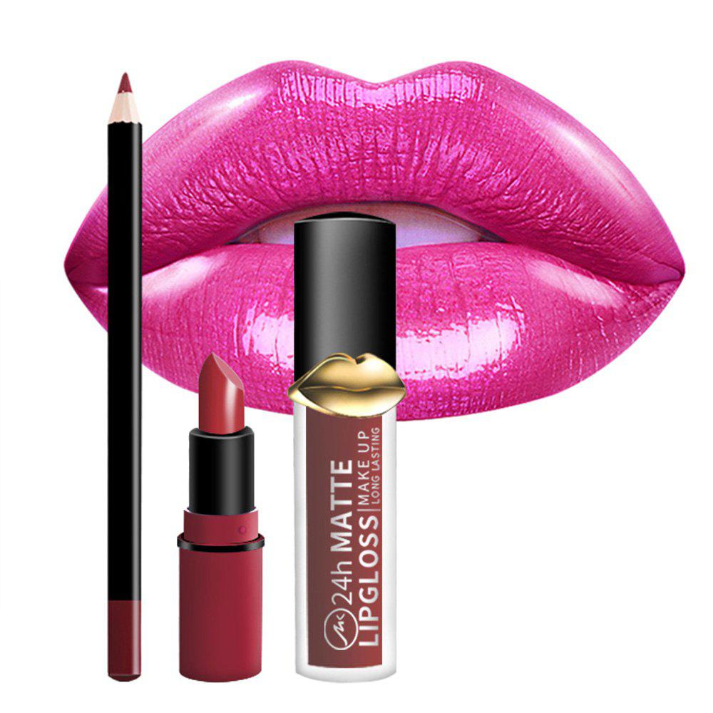 Outfit Makeup Lasting Natural Cute Lipstick Set