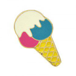 Gold-color with Colorful Enamel Cute Brooch Pins -