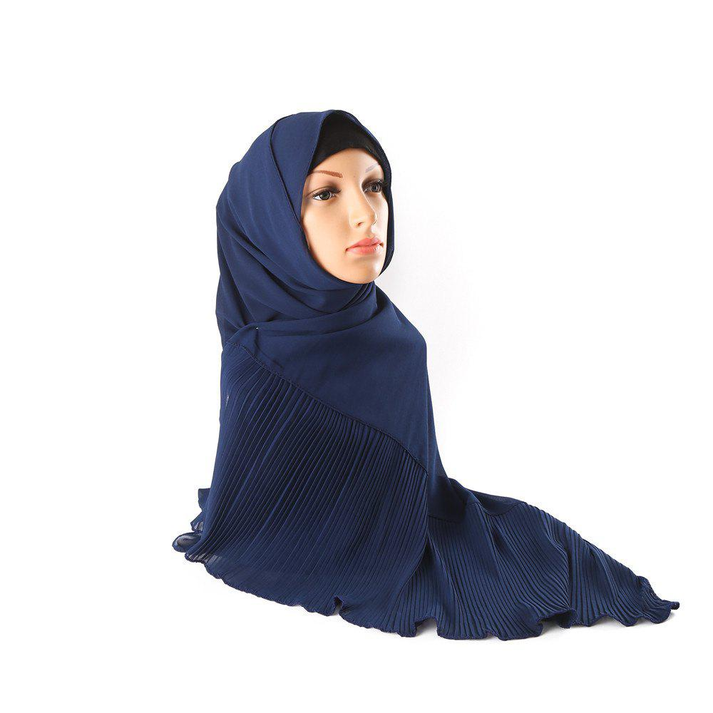 Fashion New and Solid Color Long Style Sunscreen Multifunction Headscarf