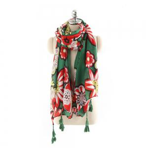 Хлопок и конопля Tassel Fashion Sunscreen Shawl Scarf -