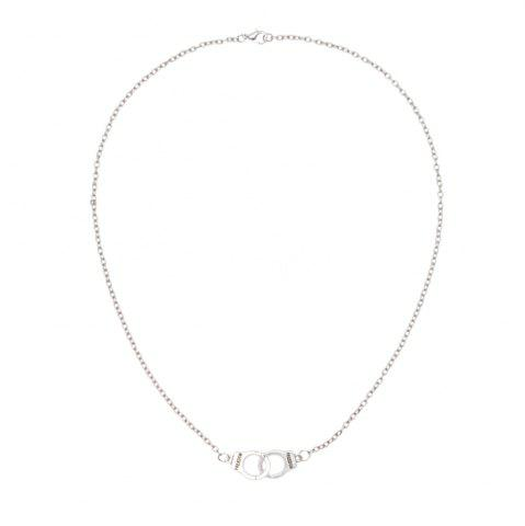 Outfits Creative Silver Handkerchief Alloy Necklace
