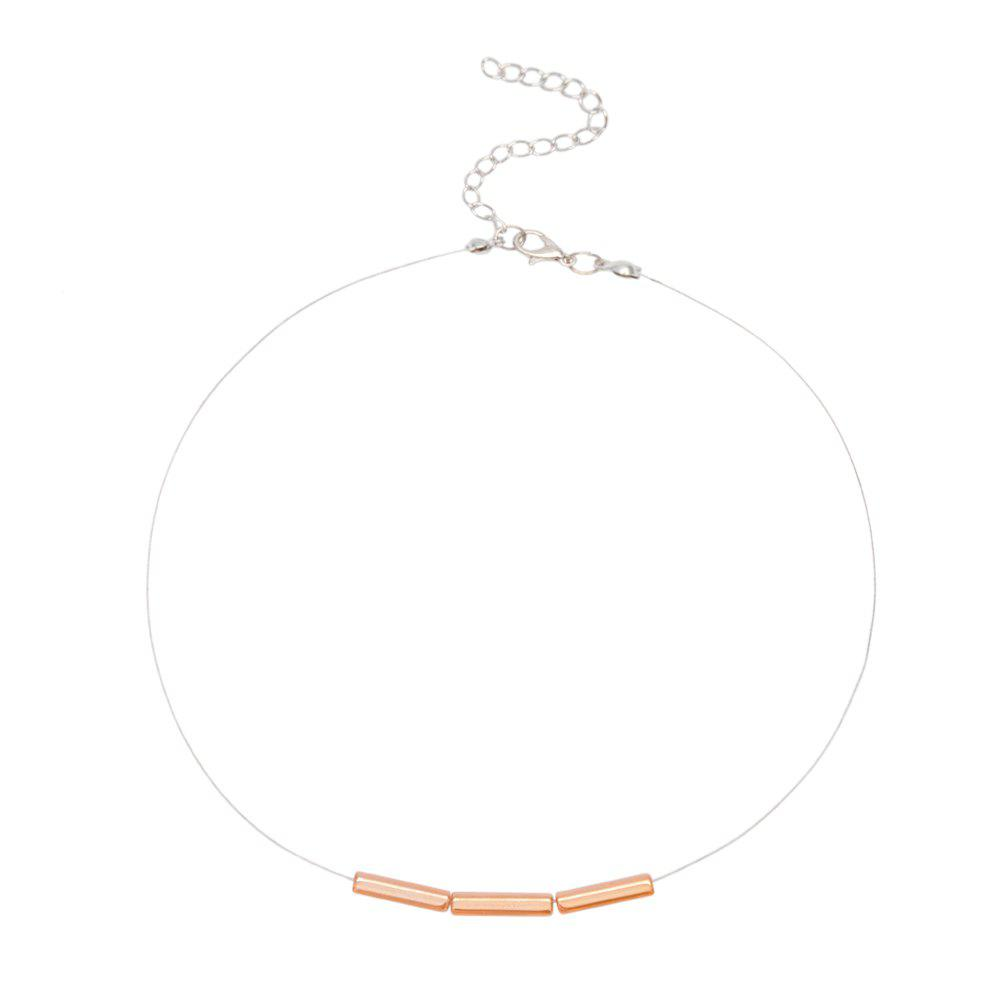 Buy Creative Simple Personality Crystal Necklace