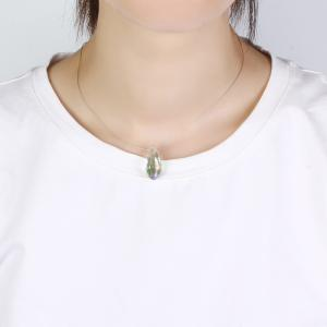 Creative Multi-cut Crystal Pendant Necklace -