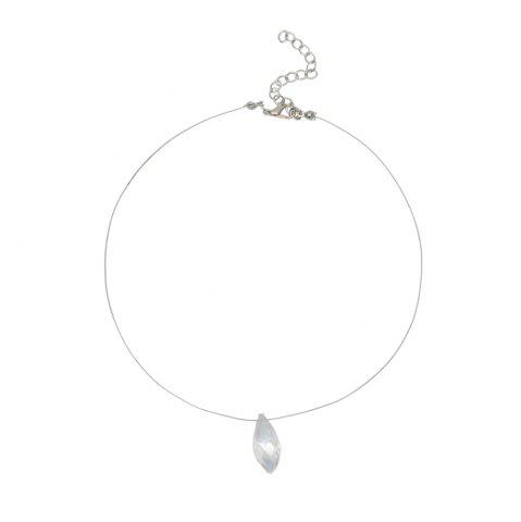 Outfit Creative Multi-cut Crystal Pendant Necklace
