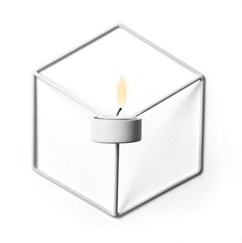 Sale 3D Geometric Candlestick Metal Wall Candle Holder for Home Decorations Weddings