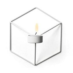 3D Geometric Candlestick Metal Wall Candle Holder for Home Decorations Weddings -
