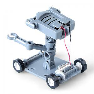 DIY Assembly Salt Water Powered Robot Kit Kid Science Educational Toy -