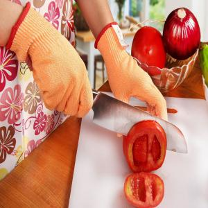OZERO Cut Resistant Gloves Knife Cutting Safety Galley Protection -