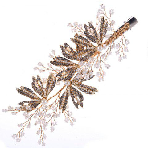 Hot Bride Accessory Alloy Auger Hair Clip