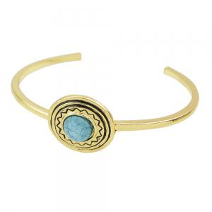 Fashion Style Accessories Colorful Turquoise Cuff Bracelets -