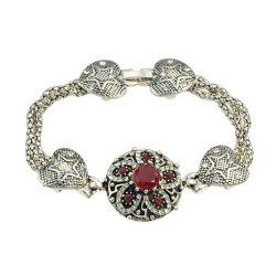 Colorful Rhinestone Flower Charm Bracelets Designer Jewelry -