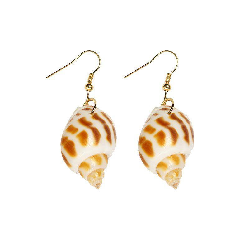 Outfits Popular Natural Conch Earrings