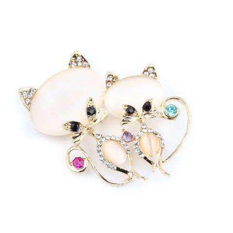 Cheap Trendy Bohemian Girl Brooches Pins For Women Fashion Casual Jewelry