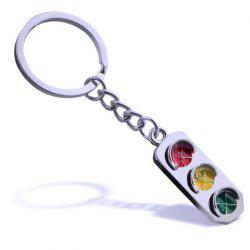 Personality Creative Traffic Light Car Key Chain -