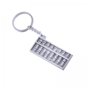 Personalized Creative Metal Abacus Key Ring Chain -