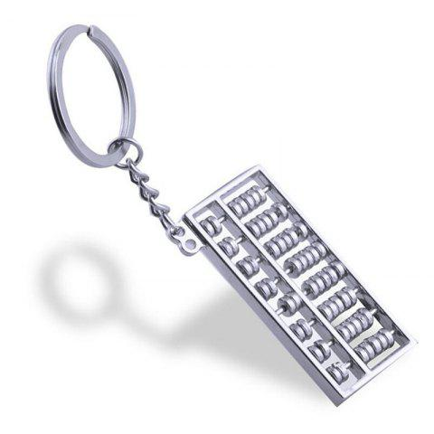 Chic Personalized Creative Metal Abacus Key Ring Chain