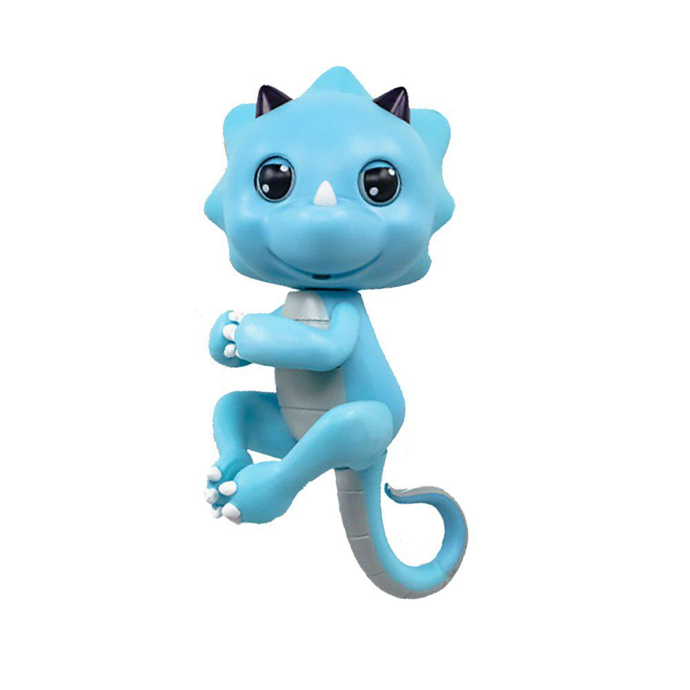Fashion Cute Baby Dinosaur Style Finger Playing Electric Pet Kid Toy