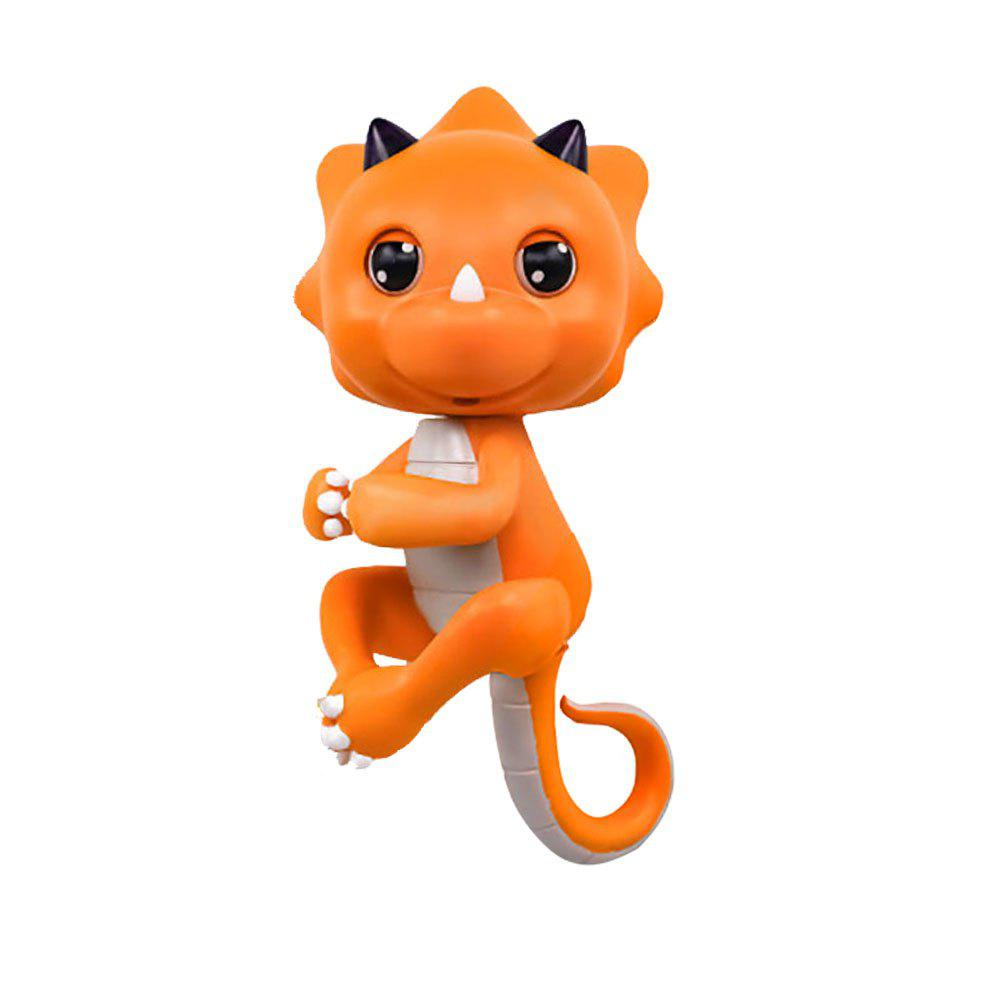 Store Cute Baby Dinosaur Style Finger Playing Electric Pet Kid Toy