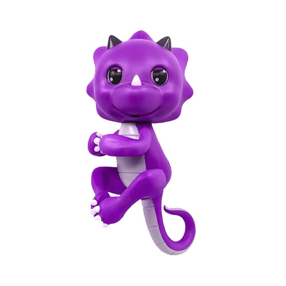 Latest Cute Baby Dinosaur Style Finger Playing Electric Pet Kid Toy