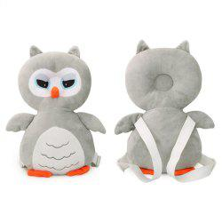Cute Owl Baby Head Protection Pad Infant Fall Prevention Pillow -